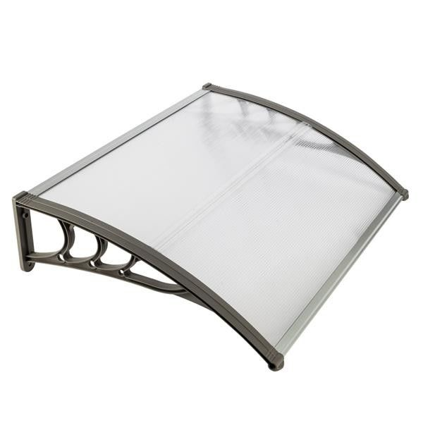 Snow Resistant Polycarbonate Canopy Cover High Impact Strength Terrace Use
